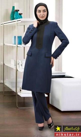 مدل جدید مانتو زیبا 2017 60 عکس از زیباترین مدل مانتو اداری شیک و رسمی 2018 97 با قیمت