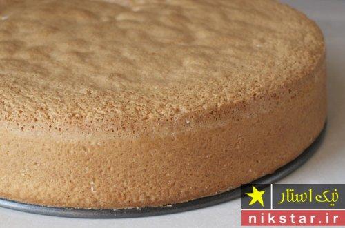 دستور کیک ساده در منزل