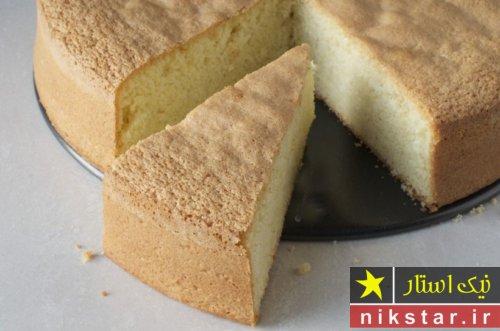 دستور پخت کیک ساده خانگی