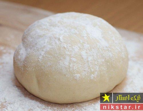 طرز تهیه خمیر پیتزا بدون مخمر