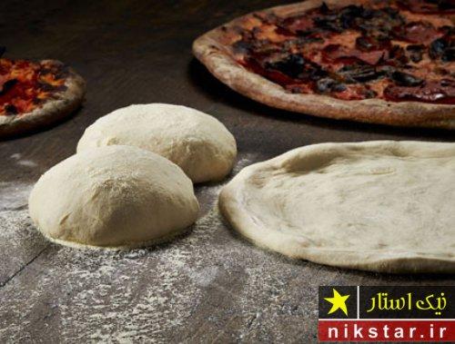 طرز درست کردن خمیر پیتزا