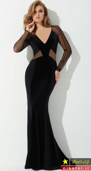 مدل لباس مجلسی زنانه بلند