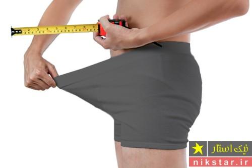 اندازه طبیعی اندام تناسلی مردان درحالت نعوظ