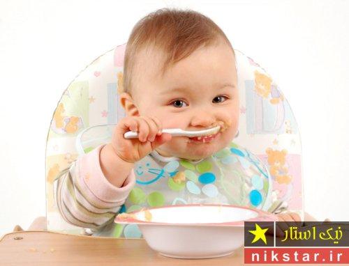 طرز تهیه غذای کمکی نوزاد 5 ماهه