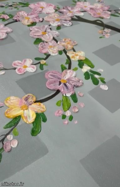 تابلو برجسته گل