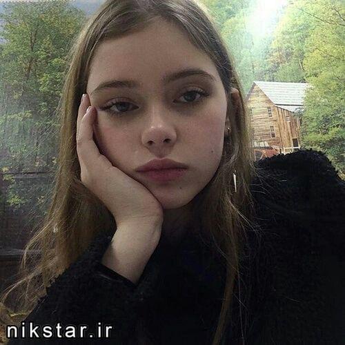 عکس دختر بدون آرایش