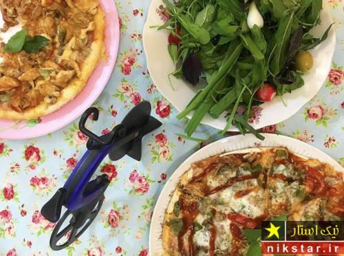 طرز پخت پیتزا مرغ و قارچ