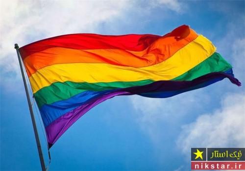 پرچم همجنسگرایان - پرچم همجنس بازان - پرچم همجنس بازی - پرچم همجنسگرایی