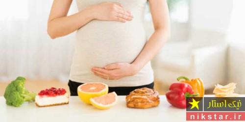چی بخوریم زود باردار شویم