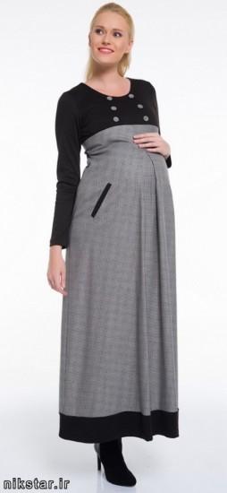 مدل مانتو بارداری ریون