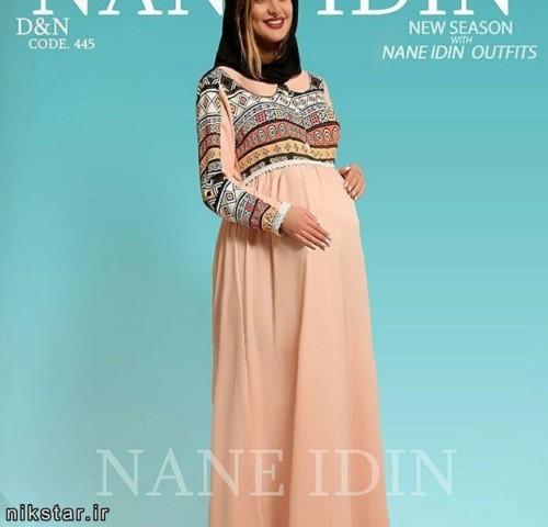 مدل مانتو بارداری پاییزه
