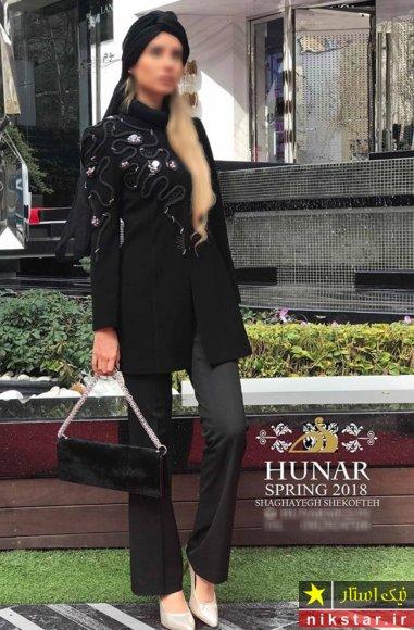 مانتو مد روز در تهران
