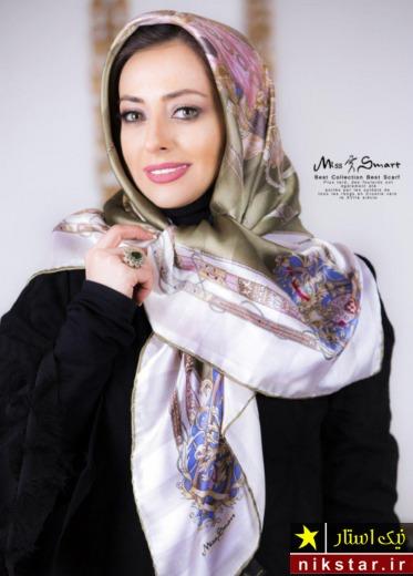 مدل روسری نخی بلند