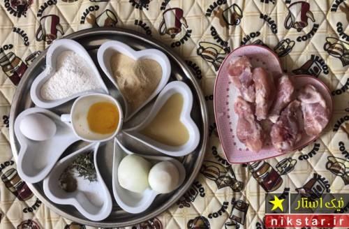 طرز پخت پاچینی مرغ
