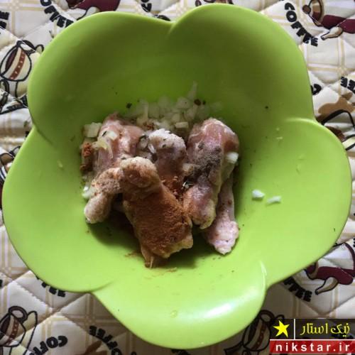 دستور پخت پاچینی مرغ