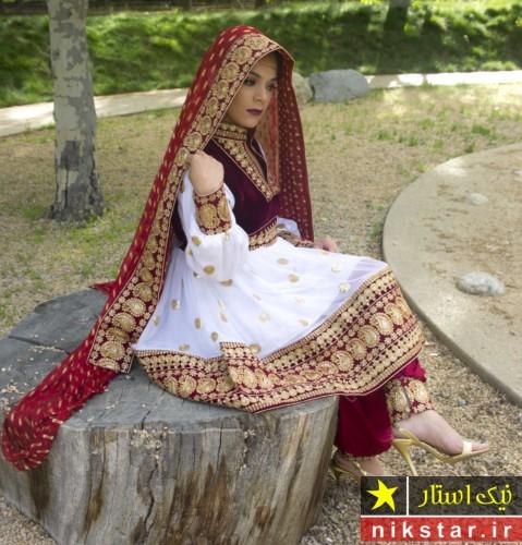 لباس عروس افغانی