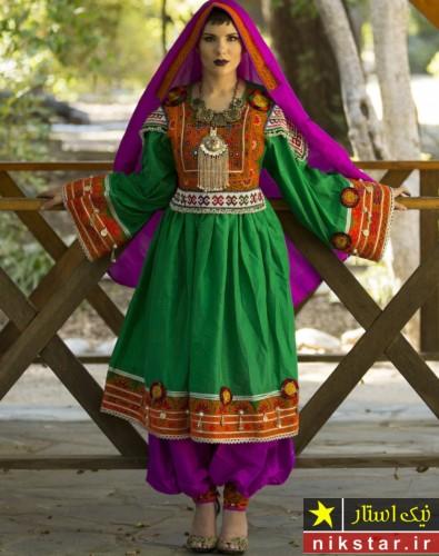 خوشگلترین لباس عروس افغانی