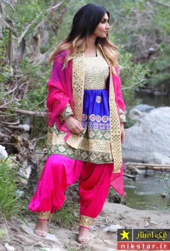 مدل های لباس عروس افغانی