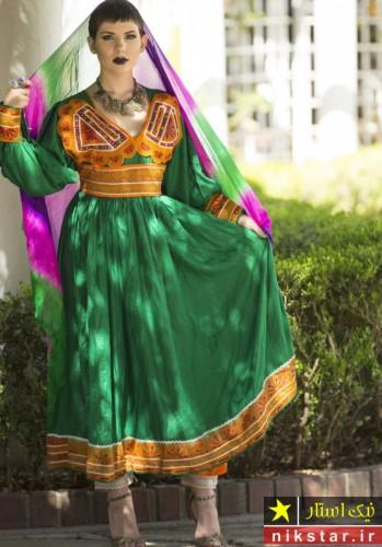 انواع لباس عروس افغانی