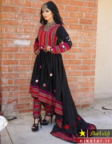 خوشگلترین لباس عروسی افغانی