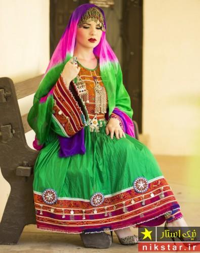 شیکترین لباس عروسی افغانی