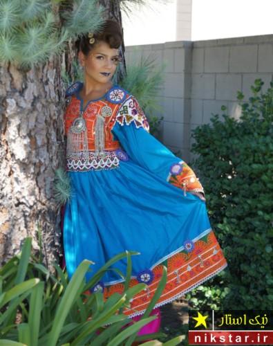 انواع لباس عروسی افغانی
