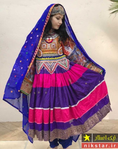 تصاویر لباس عروسی افغانی
