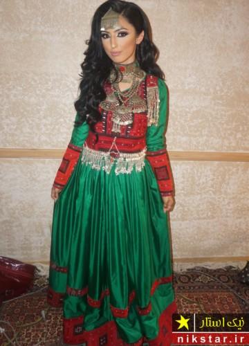 عکسهای لباس عروسی افغانی