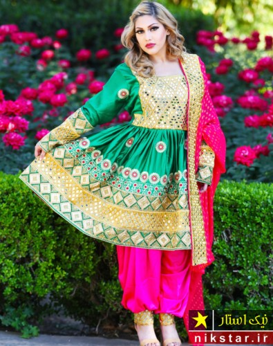 مدل لباس محلی افغانی جدید