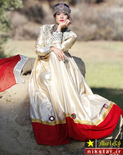 لباس عروسی افقانی سفید