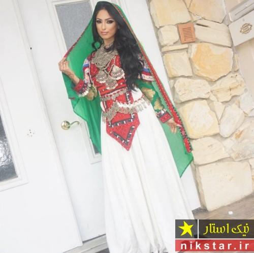 مدل لباس عروسی افغانی