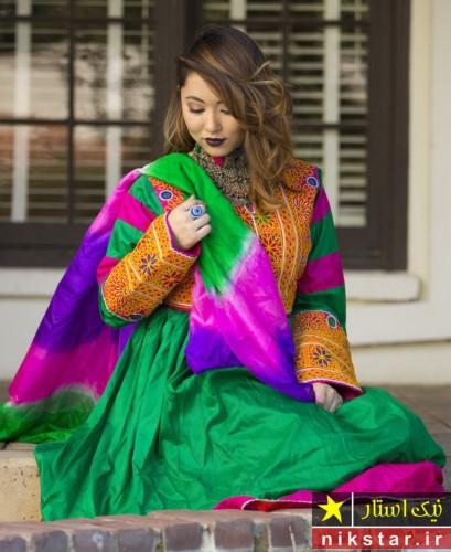 مدل لباس عروسی افغانی جدید