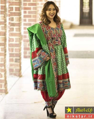 مدل لباس عروس افغانی شیک