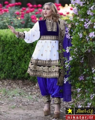 مدل لباس عروس افغانی زیبا