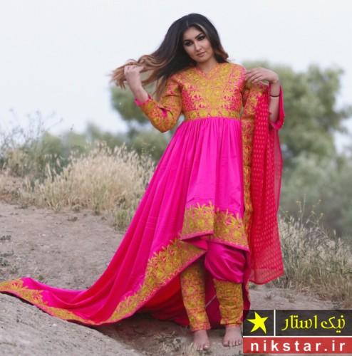 زیباترین لباس عروس افغانی