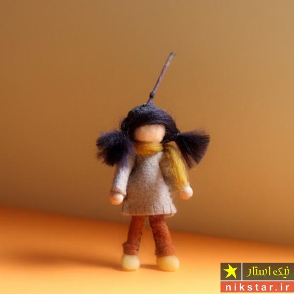 الگو عروسک کچه دوزی