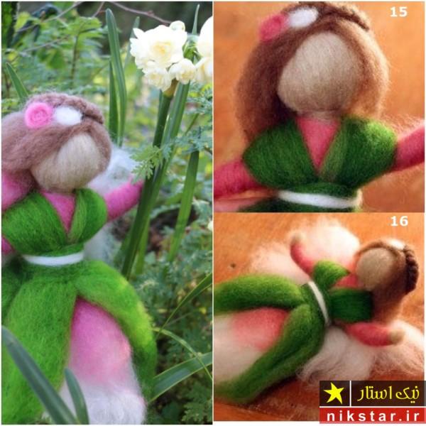 آموزش ساخت عروسک پشمی با الگو