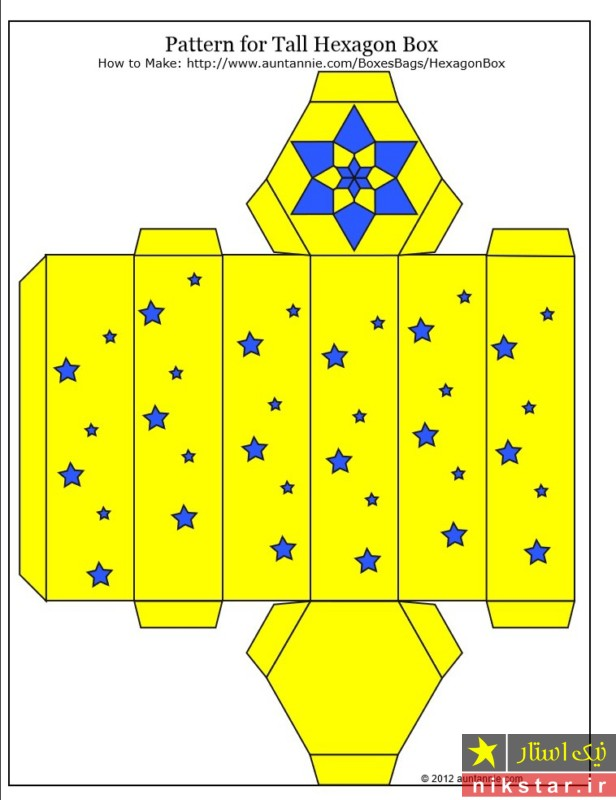 الگوی جعبه کادو
