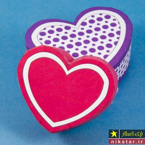 جعبه کادویی قلب