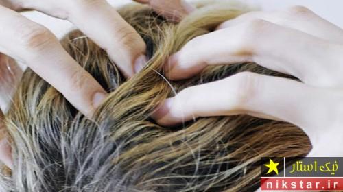 رنگ مو شپش را از بین میبرد