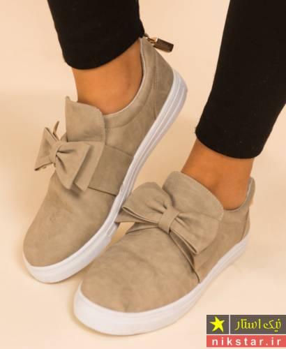 مدل کفش کتانی دخترانه