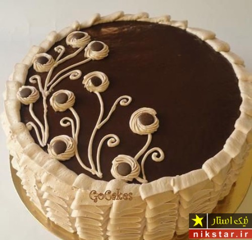 مدل تزیین کیک تولد با خامه