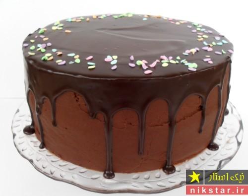 تزیین کیک تولد با خامه