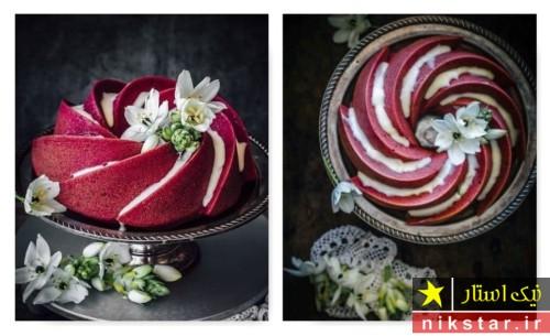 عکس تزیین کیک تولد با قالب