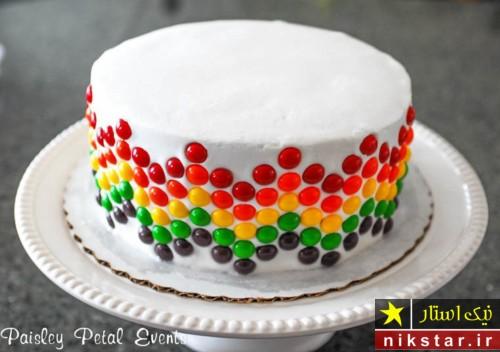 عکس تزیین کیک تولد