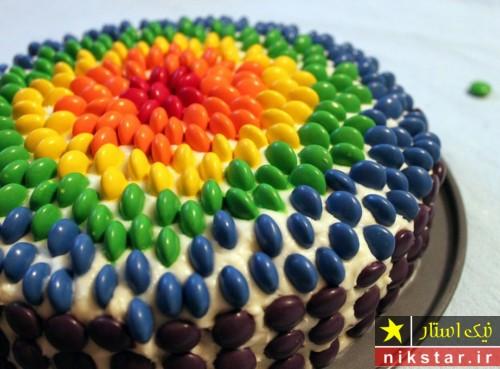 تزیین کیک تولد پسرانه با اسمارتیس