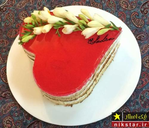 مدل تزیین کیک تولد با ژله