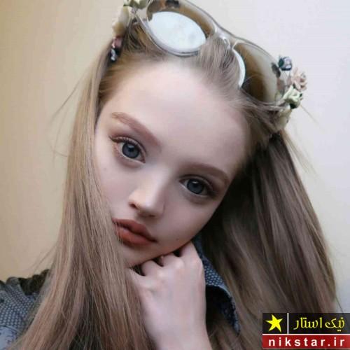 خوشگلترین دختر شبیه به عروسک