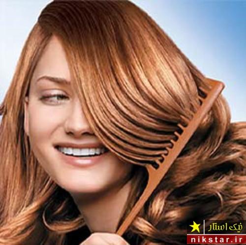 چگونه با حنا موهای خود را قهوه ای کنیم