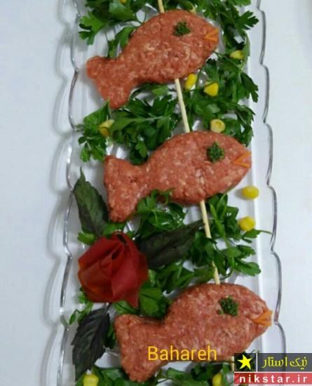 تزیین گوشت چرخ کرده یخچال عروس